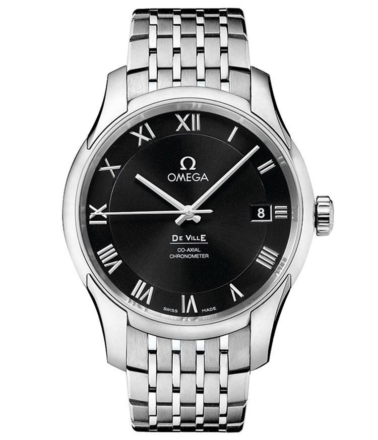 欧米茄手表维修服务中心的手表展示